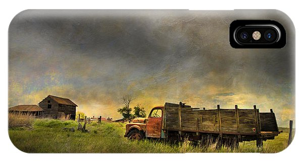 Wreck iPhone Case - Abandoned Farm Truck by Theresa Tahara