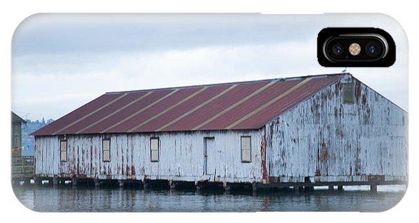 Abandoned Fishery Plant IPhone Case