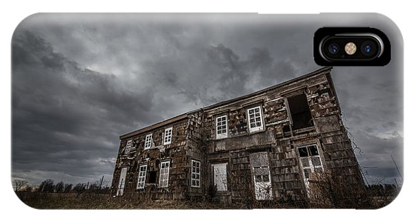 Nikon iPhone Case - Abandoned History 2 by Michael Ver Sprill