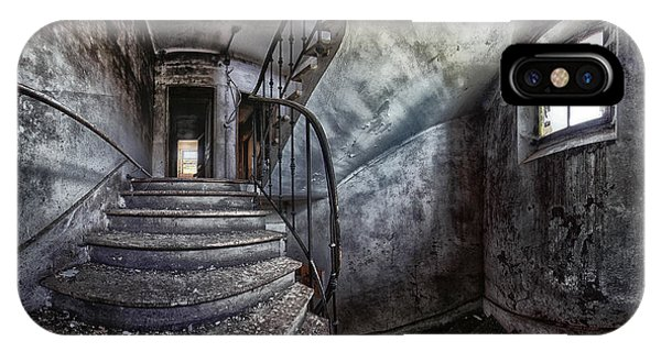 Panoramic iPhone Case - Abandoned House by Francois Casanova