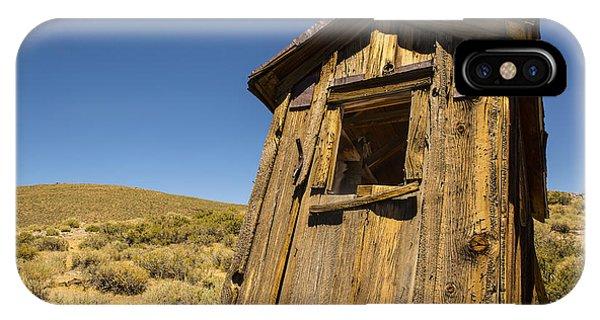 Abandoned Outhouse IPhone Case
