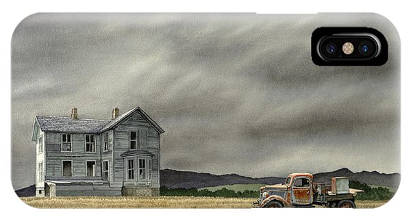 Old Houses iPhone Case - Abandoned   by Paul Krapf