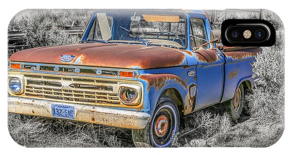 IPhone Case featuring the photograph Abandoned Pick Up Truck by Susan Leonard