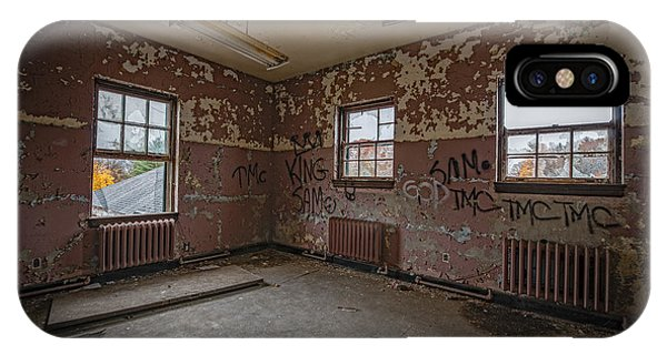 Urban Decay iPhone Case - Abandoned Room At Letchworth by Michael Ver Sprill