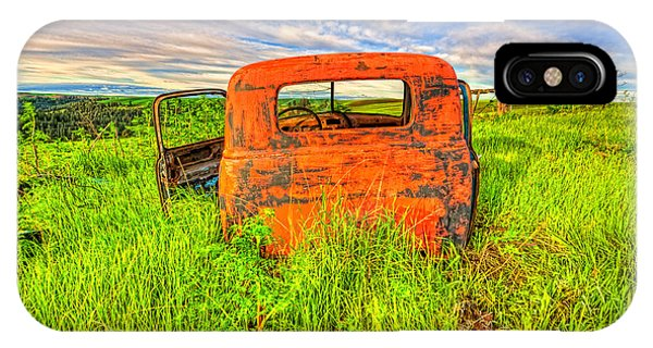 Abandoned Rusting Truck IPhone Case