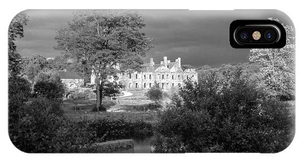 Abbaye De Bon Repos Phone Case by Carol Weitz