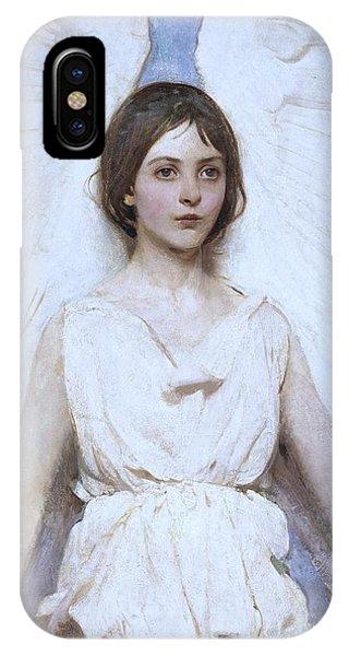 Abbott Handerson Thayer Angel 1886 IPhone Case