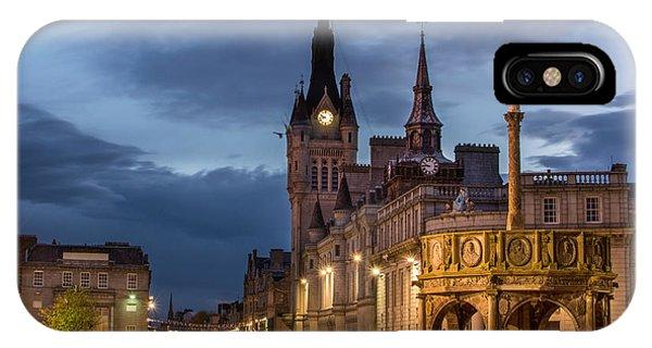 Aberdeen At Night IPhone Case