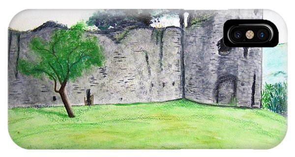 Abergavenny Castle IPhone Case