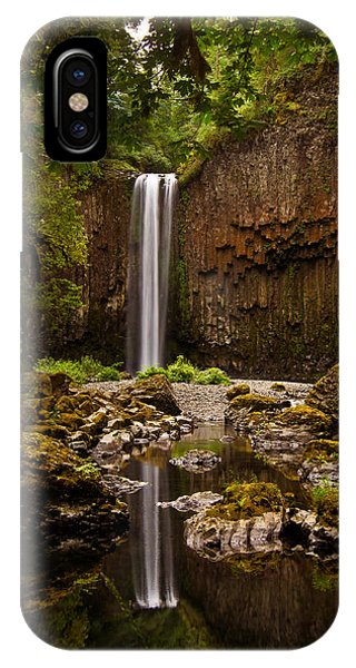 Abiqua Falls Reflection IPhone Case