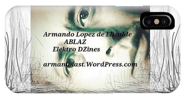 Ablaz Elektro Dz Phone Case by Armando Lopez de Elizalde