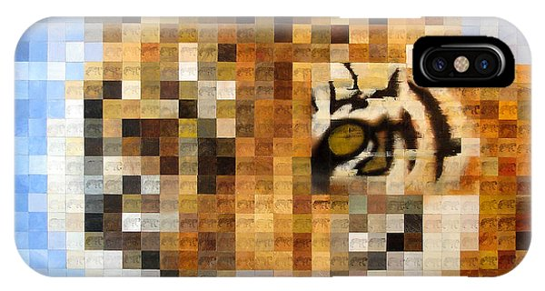About 400 Sumatran Tigers Acrylic On Paper IPhone Case