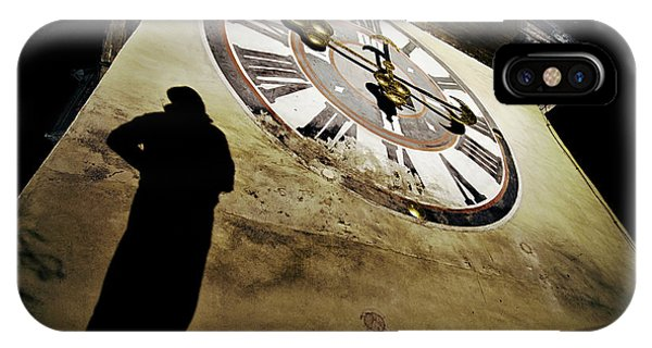 Shadows iPhone Case - About Time by Dragan Jovancevic
