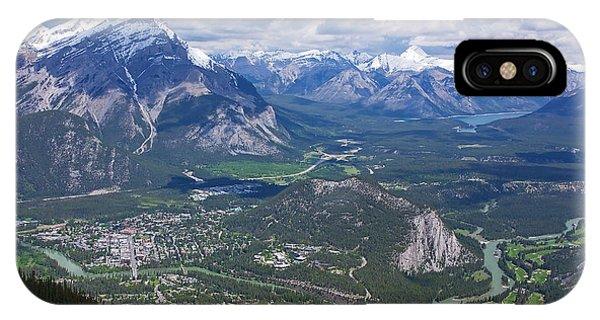 Above Banff IPhone Case