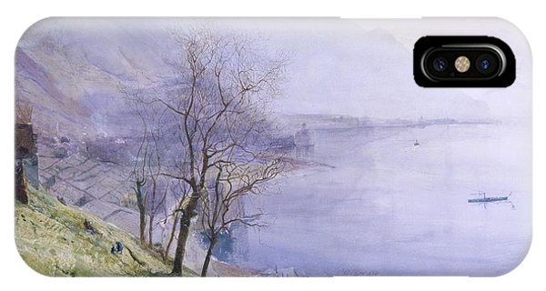 Above Montreux IPhone Case