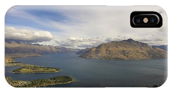 Above Queenstown #2 IPhone Case