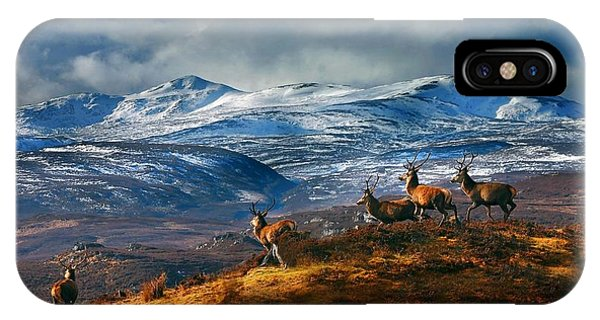 IPhone Case featuring the photograph Above Strathglass by Gavin Macrae