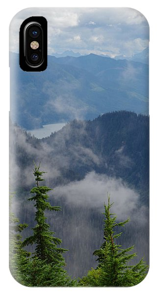 Above The Cloud IPhone Case