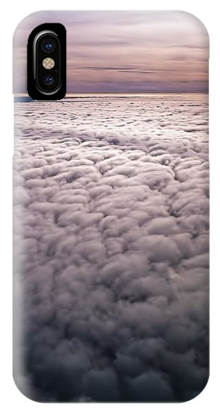 Above The Clouds 1 Phone Case by William Reek