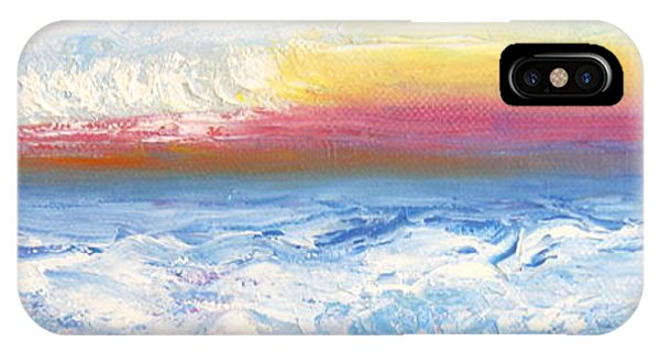 Above The Clouds II IPhone Case