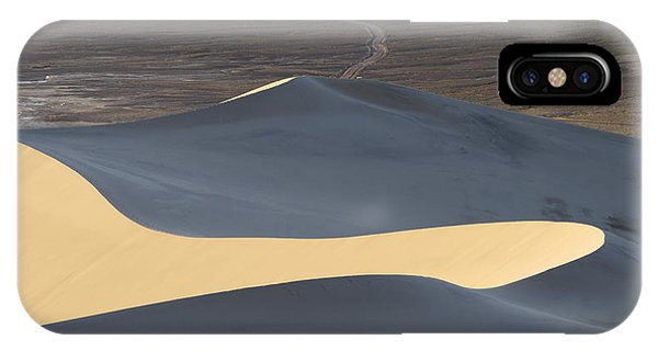 Death Valley iPhone Case - Above The Road by Chad Dutson