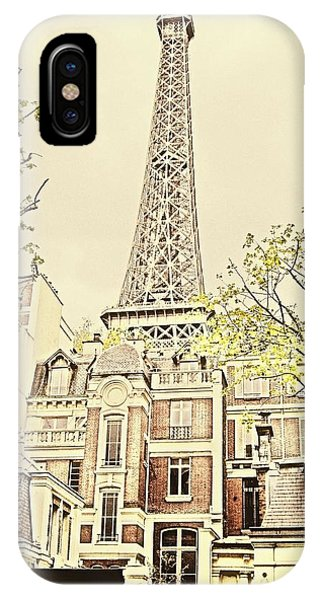 Above The Rooftops IPhone Case