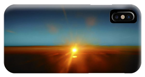Above The World IPhone Case