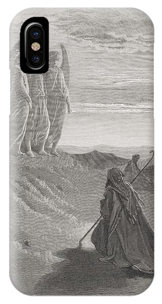 Abraham And The Three Angels IPhone Case