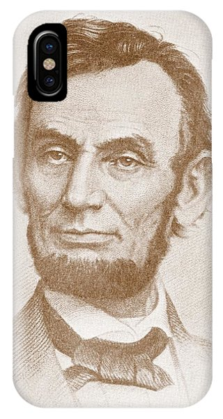 United States Presidents iPhone Case - Abraham Lincoln by American School
