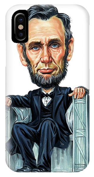 Abraham Lincoln Phone Case by Art