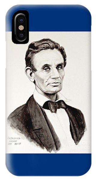 Abraham Lincoln At 49 IPhone Case