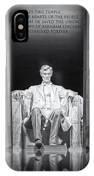 Abraham Lincoln Memorial IPhone Case