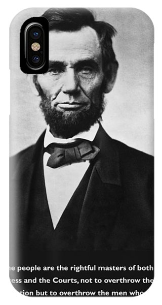 Abraham Lincoln We The People IPhone Case