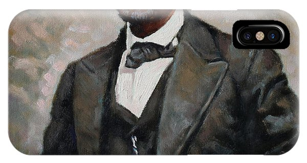 Oil iPhone Case - Abraham Lincoln by Ylli Haruni