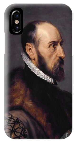 iPhone Case - Abraham Ortelius by Viktor Birkus
