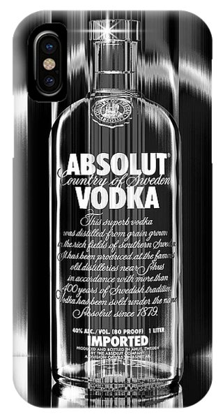 Absolut Black And White IPhone Case