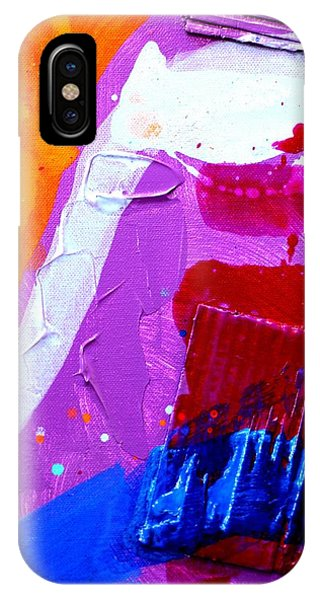 Abstract  19614 Cropped Vi Phone Case by John  Nolan