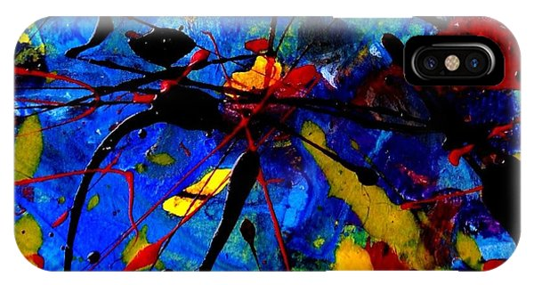 Texture iPhone Case - Abstract 39 by John  Nolan