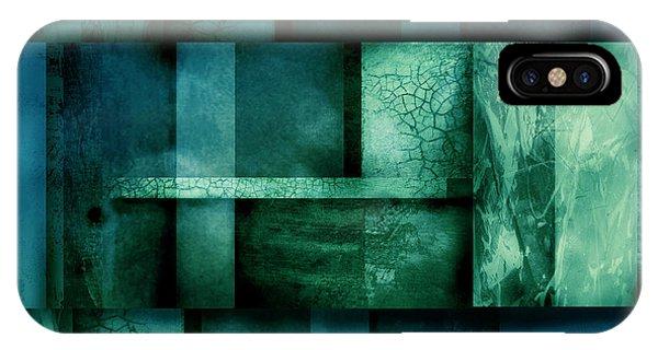 abstract art Blue Dream Phone Case by Ann Powell