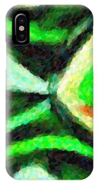 Abstract Art Bottle IPhone Case