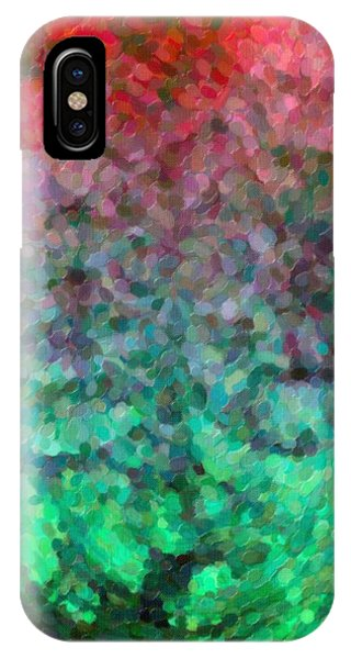 Abstract Art Mixed Colors IPhone Case