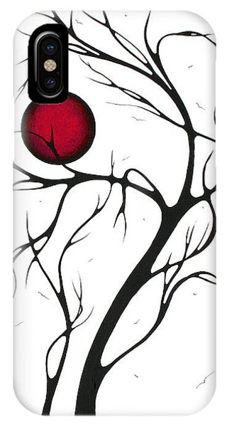 Barren iPhone Case - Abstract Art Original Huge Landscape Painting Together As One By Madart by Megan Duncanson