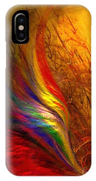 Abstract Art Print Sayings IPhone Case