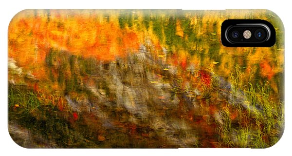 Abstract Autumn Reflections  IPhone Case