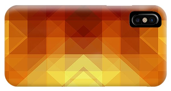 Triangles iPhone Case - Abstract Background From Triangle Shapes by Ksanagraphica