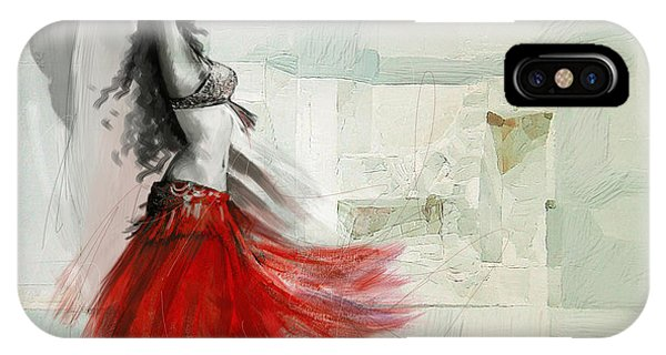 Abstract Belly Dancer 18 IPhone Case