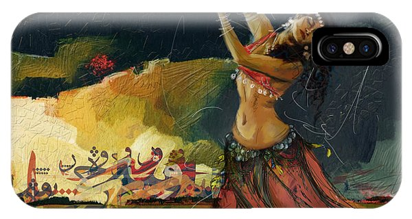 Abstract Belly Dancer 5 IPhone Case