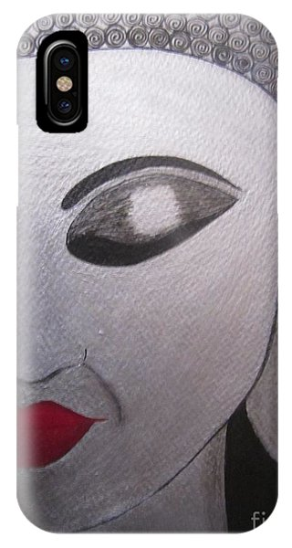 Abstract Buddha Phone Case by Priyanka Rastogi