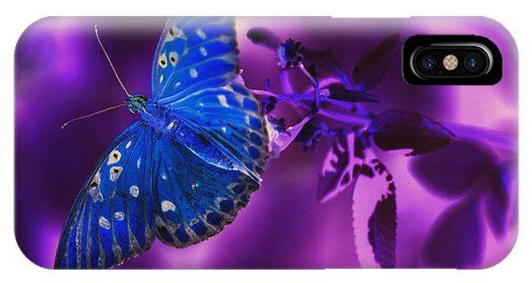 Abstract Butterfly IPhone Case
