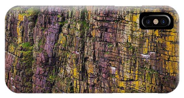 Abstract Cliffs IPhone Case